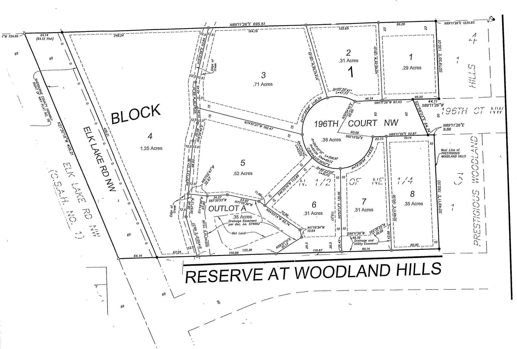 View 3 photos of this _0 bed, _0 bath, and  sqft. land home located at 13021 196th Ct NW, Elk River, Minnesota 55330 is Active for $124,900.