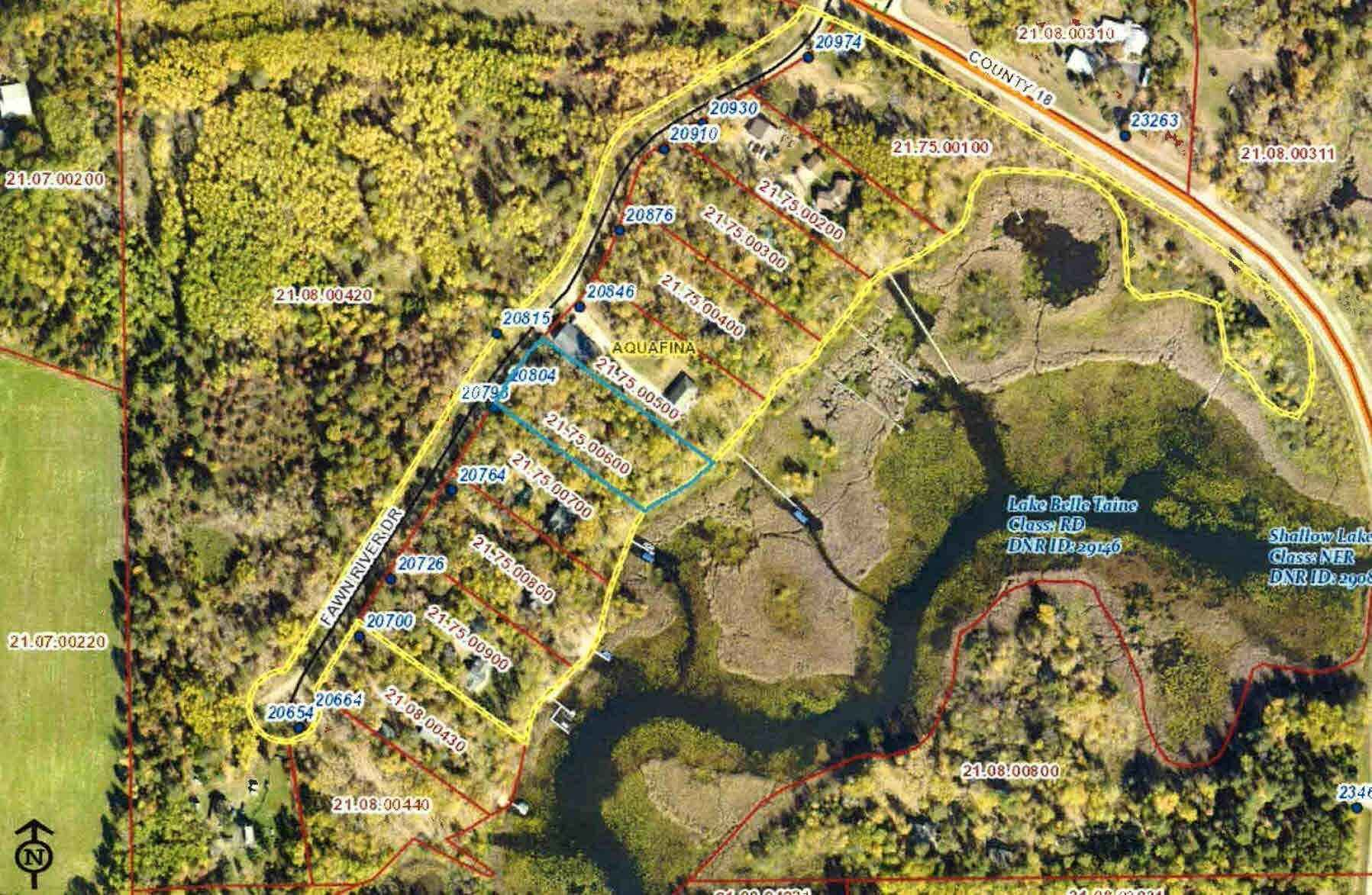 View 2 photos of this _0 bed, _0 bath, and  sqft. land home located at 20804 Fawn River Rd, Nevis, Minnesota 56467 is Active for $129,000.