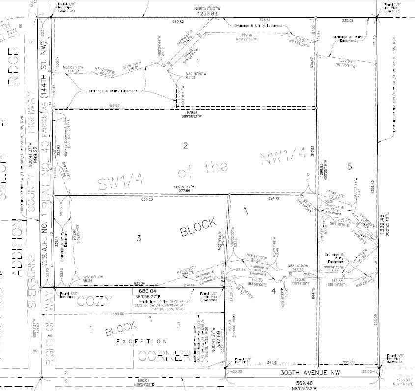 View 2 photos of this _0 bed, _0 bath, and  sqft. land home located at Xxx County Road 1 Lot 3, Princeton, Minnesota 55371 is Active for $99,000.